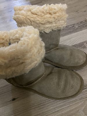 size 1 girls boots for Sale in Hudson, CO
