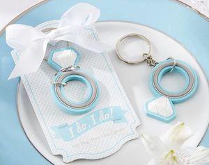 I Do! I Do! Wedding Engagement Ring Key Chain Girl Gift Tiffany Blue Rubber New Kate Aspen for Sale in Chicago Ridge, IL