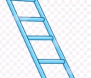 blue ladders for Sale in Long Beach, CA