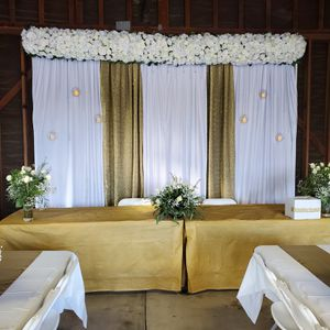 Backdrops/Balloon Garlands for Sale in Livingston, CA
