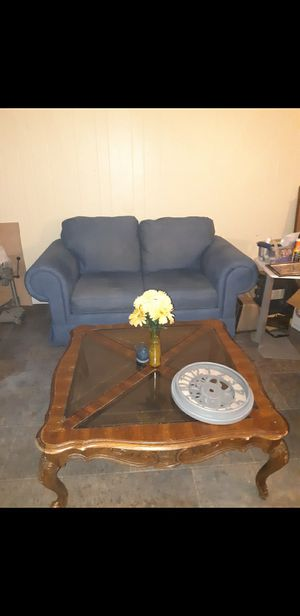 Wood & Glass Coffee Table for Sale in Cleveland, TN