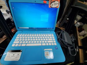 """14"""" HP Stream 14-ax010wm Blue Laptop for Sale in Baltimore, MD"""