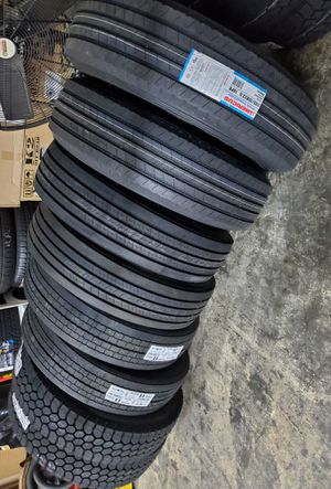 295 75 22.5 COMMERCIAL TRUCK AND TRAILER TIRES for Sale in Rancho Cucamonga, CA