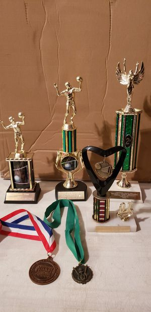 Trophies And Medals For Volleyball & Debate Lot for Sale in Los Angeles, CA