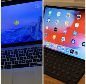 MacBook Pro Retina display and a IPad Pro 12.9 inch package for Sale in Canton, MI