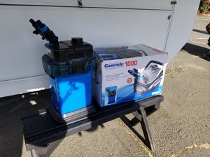Cascade 1000 for Aquariums pump filter for Sale in Vallejo, CA