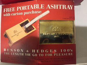 Collectible Benson & Hedges ashtray for Sale in Bloomfield Hills, MI