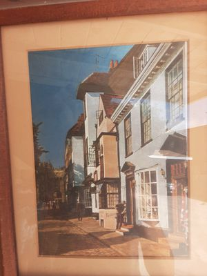 3Dimensional painting in oak frame for Sale in Long Beach, CA