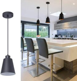 Modern Black Pendant Hanging Light Fixture for Sale in Bergenfield,  NJ