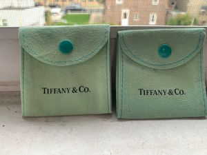 Authentic Tiffany & Co jewelry pouch for Sale in Brooklyn, NY
