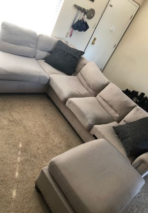 Reversible sectional couch for Sale in Burlingame, CA