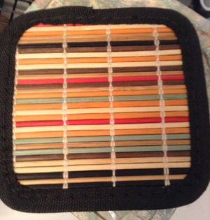 6 new bamboo coasters for Sale in Fort Pierce, FL