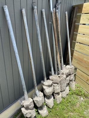Chain link fence posts for Sale in St. Petersburg, FL