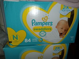 Newborn diapers for Sale in Phillips Ranch, CA