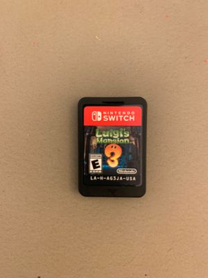 Nintendo switch Luigis mansion 3 for Sale in Victorville, CA