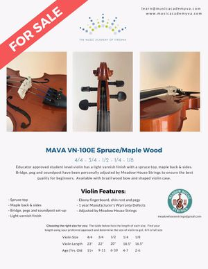 Violin (various sizes) - educator approved for Sale in Centreville, VA
