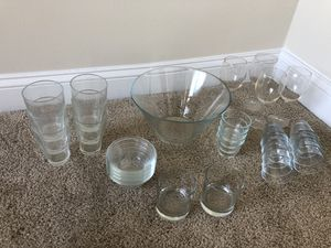 Assorted Glassware for Sale in Chevy Chase, MD