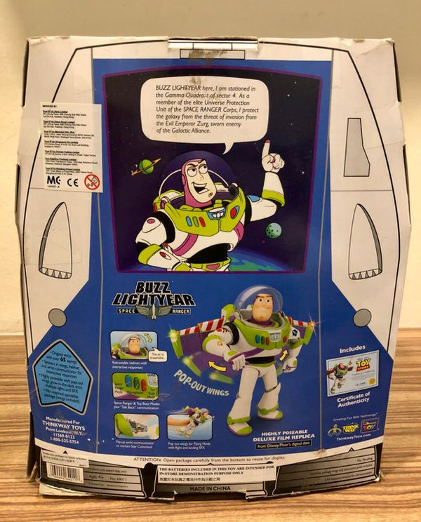 Disney Toy story buzz light year Woody Signature Collection