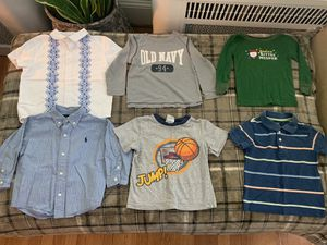 12 M- 2T Boy Shirts for Sale in Frederick, MD