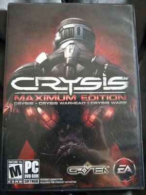 Crysis Maximum Edition for Sale in Traverse City, MI
