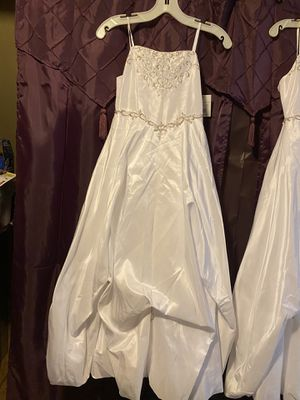 Brand new flower girl dresses with tags on for Sale in Hudson, NH