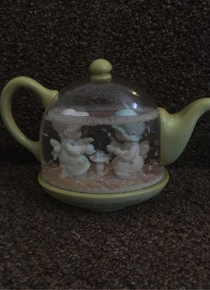 PRECIOUS MOMENTS TEAPOT SNOW GLOBE for Sale in Baltimore, MD