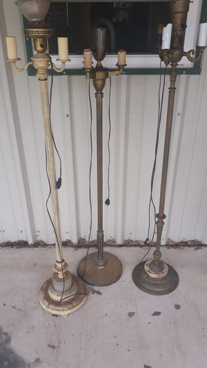 Vintage brass lamps for Sale in Abilene, TX