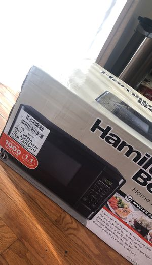 Hamilton Beach Microwave 1000 watts for Sale in Burke, VA
