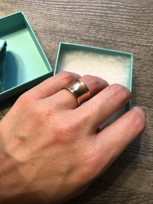 Tiffany & Co Rubedo 1837 Wide Ring size 4 for Sale in Nashville, TN