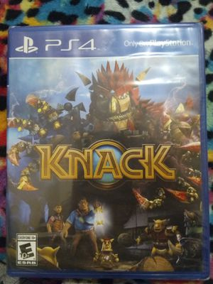 PS4 Knack for Sale in Madison Heights, VA