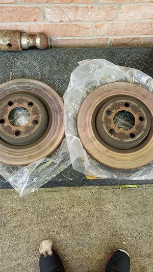 OEM Stock Front rotors Chrysler 300 V6 parts for Sale in Dallas, TX