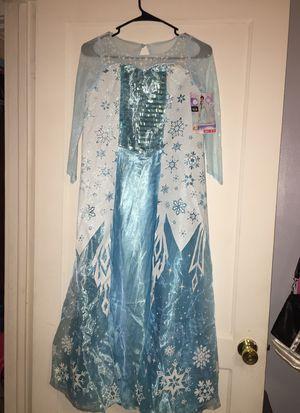 Elsa Disney Dress size 7-8 for Sale in Kannapolis, NC