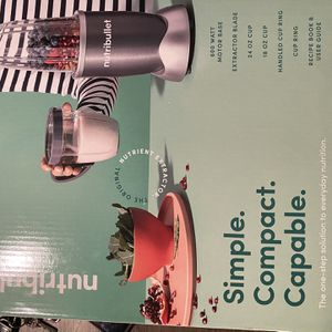 Christmas NutriBullet® 600 Watt Nutrient Extractor Blender for Sale in San Leandro, CA