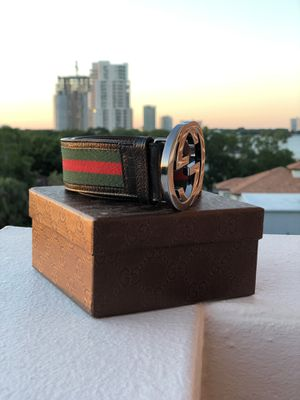 Authentic real Gucci belt. 34 for Sale in Tampa, FL