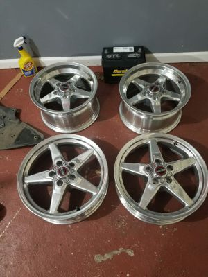 Race star 92 drag wheels 17x4 and 15x8 for Sale for sale  Linden, NJ