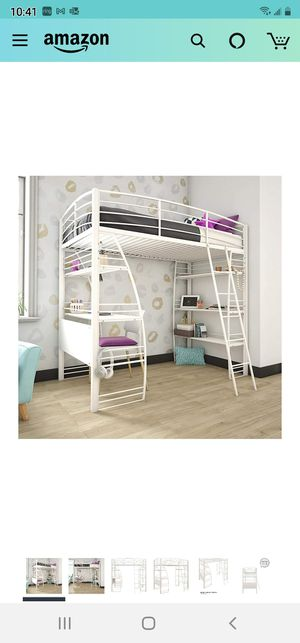 DHP Studio Loft Bunk Bed Over D for Sale in El Cajon, CA