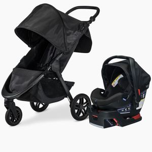 Britax B Agile Stroller And Car Seat for Sale in Ontario, CA