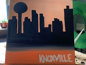 Hand painted Knoxville City Skyline for Sale in Knoxville, TN