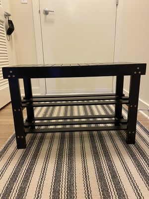 Entry Bench for Shoes for Sale in Arlington, VA