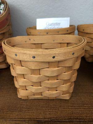 Longaberger Oregano Booking Basket for Sale in Moreno Valley, CA