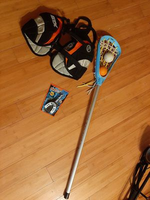 Lacrosse Stick and Rib Pad for Sale in Columbia, MD