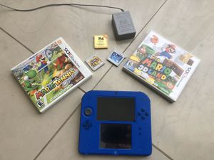 Nintendo 2DS 3DS with Mario and R4 Cart for Sale in Miami, FL