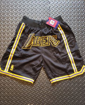 Lakers Shorts - Sizes L and XL (check my other listings) for Sale in Hoffman Estates, IL