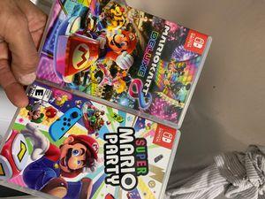 Mario kart, Mario party ., super smash for Sale in La Puente, CA