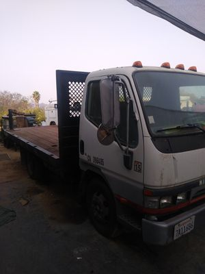 2003 Fuso diesel ,12 ft flatbed, nice for Sale in Pala, CA