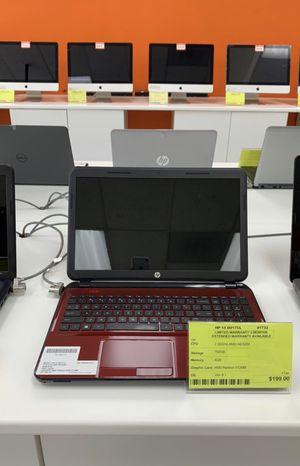 "15.6"" HP 15-2GHz AMD A6-720GB HDD-4GB RAM for Sale in Los Angeles, CA"