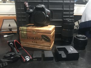 Canon T5 bundle for sale/trade for Sale in Houston, TX