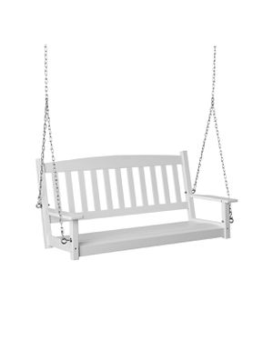 White Wood porch swing - new in box for Sale in Houston, TX