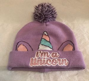 I'm A Unicorn Sparkly Purple Knit Winter Hat Beanie for Sale in Avon Lake, OH