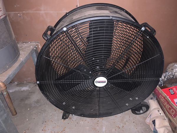 Central machinery high velocity shop fan